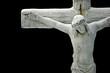 Leinwanddruck Bild - jesus on a cross