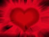 heart blur poster