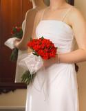 brides roses poster