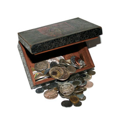 boite de pièces
