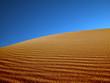 Leinwanddruck Bild sand dunes in the desert.