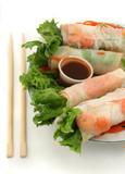 vegetable rolls poster