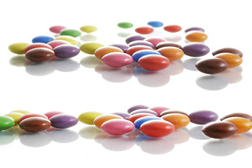 candy reflected