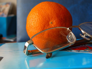 sight, frame, orange