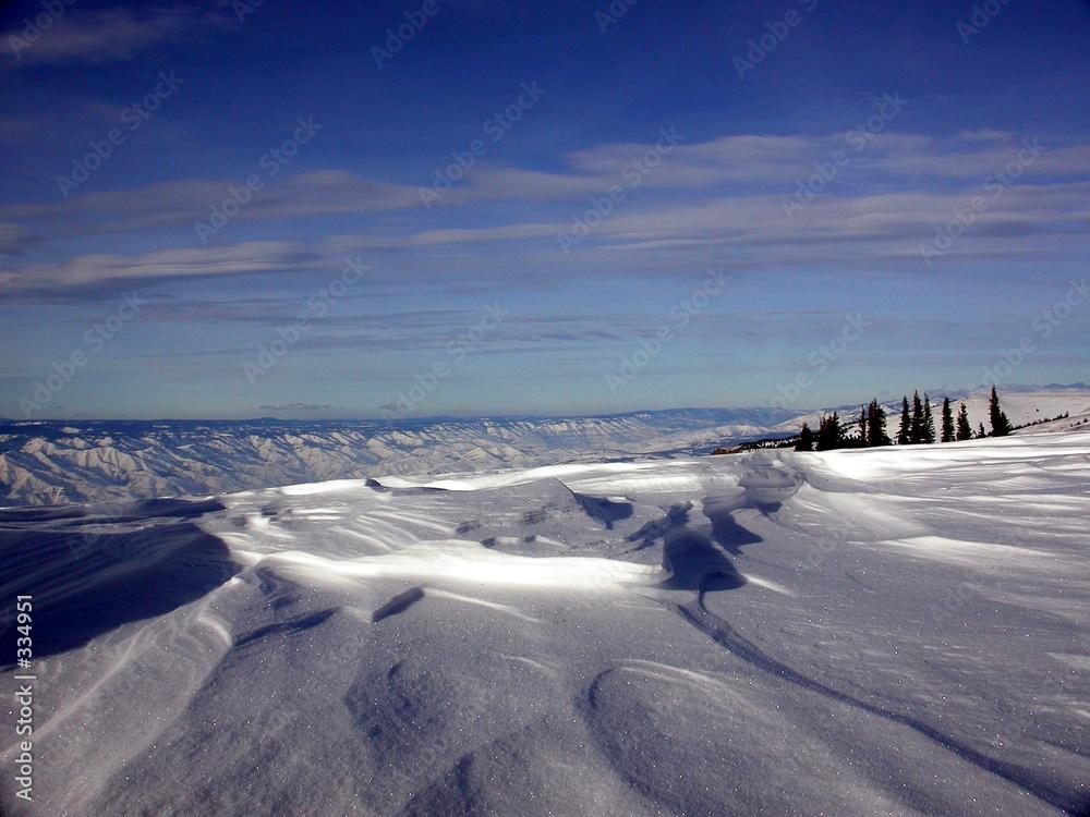 góra niebo lód - powiększenie