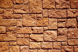 stone wall close-up poster