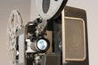 film projector front close
