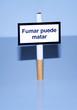 panneau fumar puede matar
