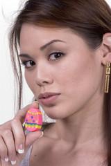 easter egg & lips