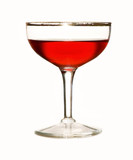 solitary wine glass poster