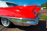 classic car fins poster