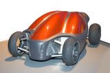 futuristic concept car poster