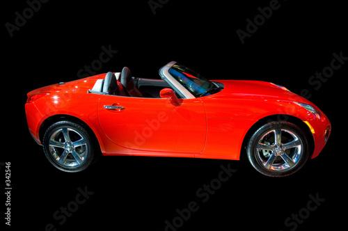 Foto op Canvas Snelle auto s pontiac solstice