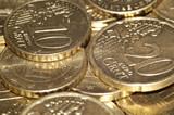 euro coins poster