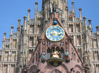 frauenkirche clock