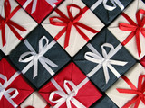 gift boxes pattern poster