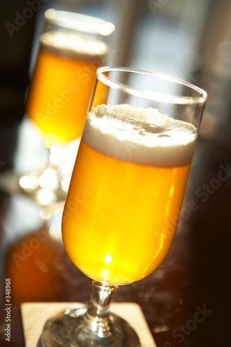 glasses of beers