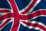flag of great britain poster