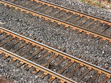 railway tracks poster