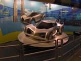 cool & futuristic concept car poster