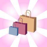 shopping bags poster