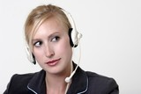 pretty switch board operator poster