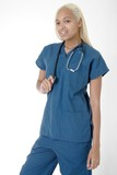 young student nurse in scrubs poster