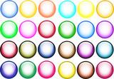 shiny balls poster