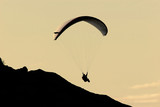 gliding in the twilight poster