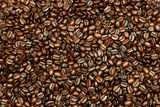 fresh coffee beans poster