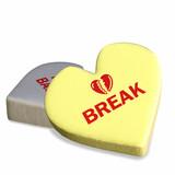 conversation heart - heart break poster