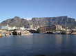 table mountain from the water