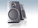 desktop speakers poster