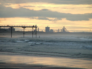 industry view from the beach