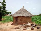 un village au burkina faso poster