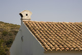 spanish style roof poster