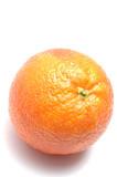 blood orange on white poster