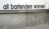 all bartenders women poster