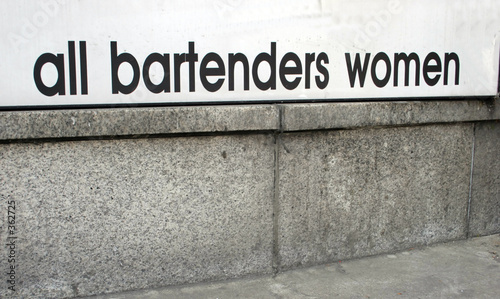all bartenders women