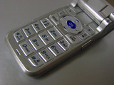 cell phone keypad closeup poster