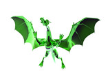green dragon poster