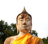 of buddhist art style poster