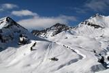 pistes de ski poster