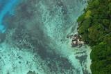 vue aérienne mahé seychelles - Fine Art prints