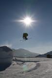 ski saut poster