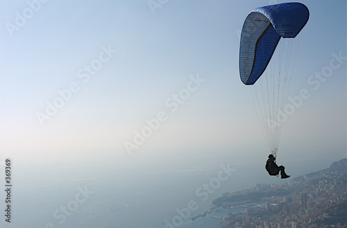 Deurstickers Luchtsport parapente