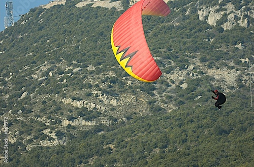 Deurstickers Luchtsport parapente 2
