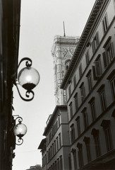 firenze narrow street italy