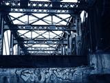 bridge graffiti poster