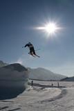 saut a ski poster